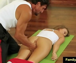 Daddy help me with injury..