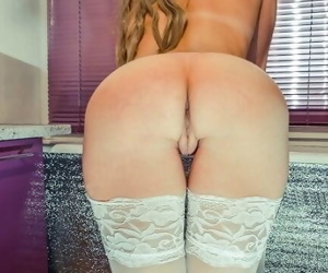Fucked beautiful blonde in..
