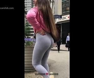 Candid Teen Leggings Ass..