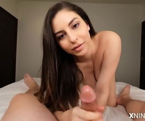 Young Latina Slut uses Feet..