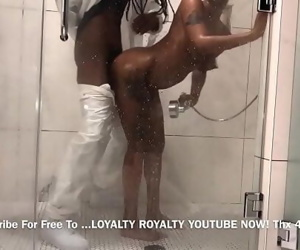 Daddy Catches Teen In Shower..