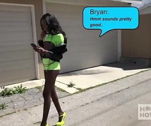 Gorgeous ebony slut Chanel..