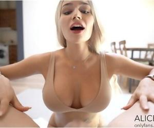 Big Titty Alice Gets Facial..
